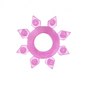 Розовое универсальное кольцо для эрекции, 818002-3