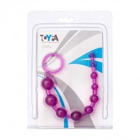 Шарики анальные, фиолетовые, 30 см, 881302-4