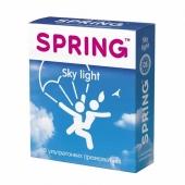 """Презервативы SPRING """"Sky Light"""" с утонченной стенкой 3 шт./уп., 00173"""