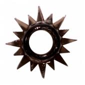 Эластичное черное кольцо для продления эрекции, 0112-13