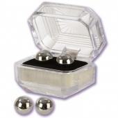 Классные металлические вагинальные шарики в коробочке, 1305-05