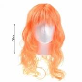 Сексапильный оранжевый парик с длинными волосами, 16836770