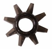 Черное эластичное безвибрационное кольцо для мужчин, 0114-91