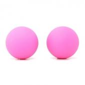 Силиконовые шарики розовые, 18-05-P1