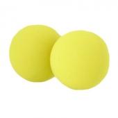 Силиконовые шарики желтые, 18-05-Y1