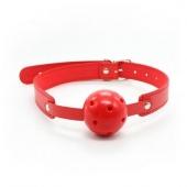 Классический красный БДСМ кляп для эксперементов, 222002013
