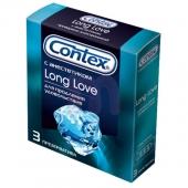 Презервативы с анестетиком Contex №3 Long Love, 3 шт, 300107