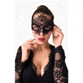 Сексуальная черная ажурная маска для женщин, 3002f