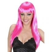 Ярко-розовый парик, 3300003487