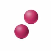 Ярко-розовые шарики для тренировки мыщц влагалища Emotions Lexy Small, 2,4 см, 4014-02