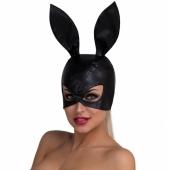 Шикарная маска-кролик черного цвета для дам, 5019md