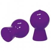 Пурпурные вакуумные стимуляторы для сосков, 512842