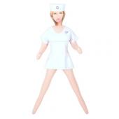 Развратная надувная секс-кукла медсестра Liebespuppe, 51537