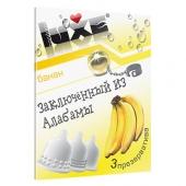 Ароматизированные презервативы Luxe конверт, банан, заключенный из алабамы, 3 шт, 694