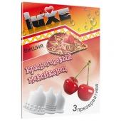 Ароматизированные презервативы Luxe конверт, вишня, красноголовый мексиканец, 3 шт, 696
