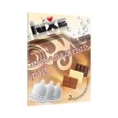 Ароматизированные презервативы Luxe конверт, шоколад, шоколадный рай, 3 шт, 700