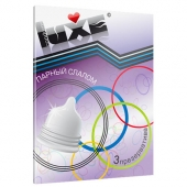 """Рельефные презервативы """"Luxe"""" Парный слалом, 3шт, 702"""