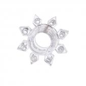 Кольцо эрекционное для пениса, прозрачное, 818002-1