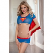 """Эротический комплект """"Супер Женщина"""" для игривых дам, 841022"""