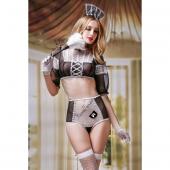 Игривый костюм горничной Candy Girl Crystal для забав в постели, S-L, 841036