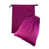 Розовый подарочный мешок из атласа для хранения игрушек, 9310001