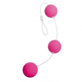 Анальные шарики Sexus Funny Five, розовые, 935002-3