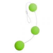 Яркие шарики для анальной стимуляции на сцепке, 935002-7