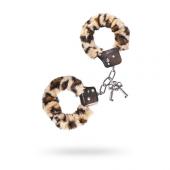 Наручники с леопардовым мехом, 951034