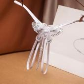 Соблазнительные трусики красиво оголяющие женское лоно, розовые, A041