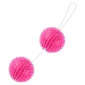 Розовые шарики с мягкими усиками со смещенным центром тяжести, BI-014036