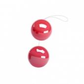 Красные шарики для вагинальных упражнений и удовольствия, BI-014049-2