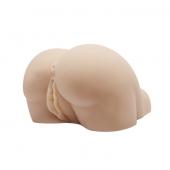 Копия женской попки с двумя входами для секса и вибрацией, BM-009190-1