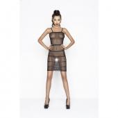 Длинное черное сексуальное платье, BS033-BL