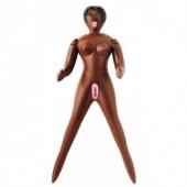 Мини-кукла с шоколадным оттенком кожи, DDS-06