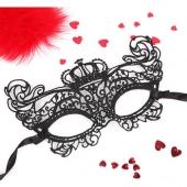 Женская ажурная маска для ролевых игр, EE-20351
