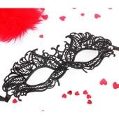 Таинственная ажурная маска на глаза для девушек, EE-20363