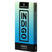 Презервативы INDIGO Classic №5 классические 5шт, IC5