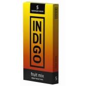 Презервативы INDIGO Fruit mix №5 фруктовый микс 5шт, IFM5
