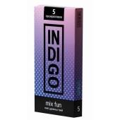 Презервативы INDIGO Mix Fun №5 микс удовольствий 5шт, IMF5