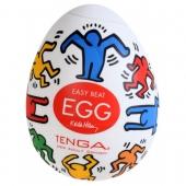 Мужской мастурбатор Keith Haring Egg Dance от Тенга, KHE-002