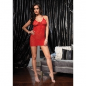 Супер сексуальный красный комплект из платья и стрингов, S-L, LA8316