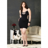 Сексуальное платье для пышных дам, LA86090Q