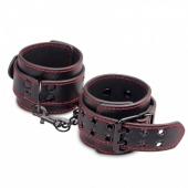 Замечательные черные наручники для захватывающих игр, LV1655