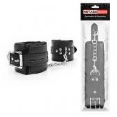 Кожаные БДСМ наручники для эксперементов в сексе, NTB-80567