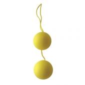 """Желтые шарики """"Yellow"""" для интимной тренировки, SF-70151-4"""