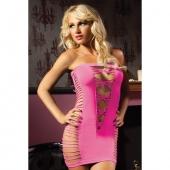 Сексапильное платье-бандо, STM-9511PPNK