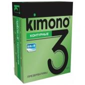 """Контурные презервативы """"Kimono"""", 3шт, kimono2"""