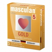 Презервативы Masculan 5 Ultra, 3 шт
